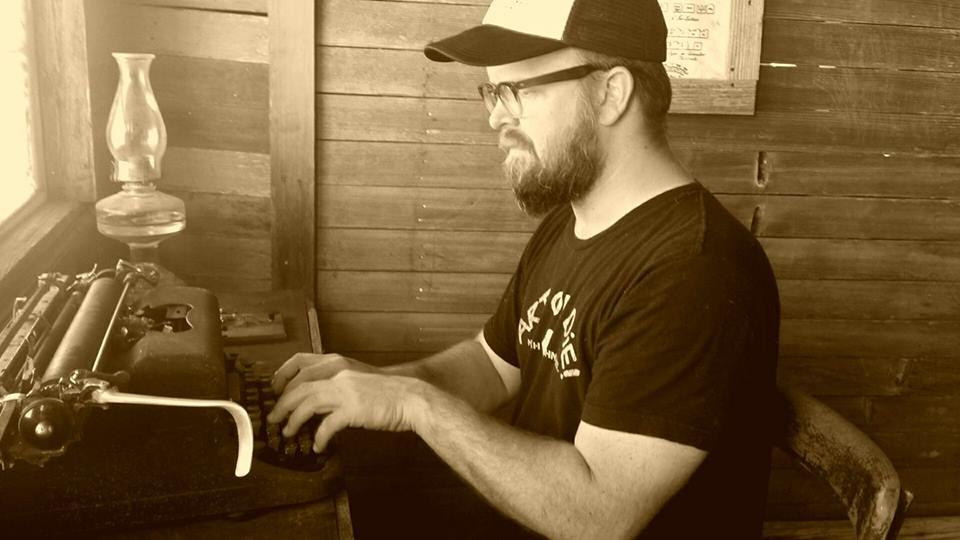 Larry typewriter